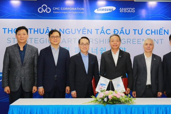Samsung SDS signs strategic partnership with Vietnamese firm