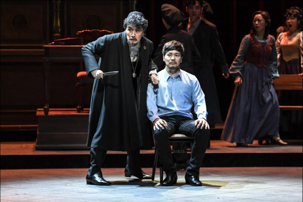 Musical 'The Merchant of Venice' plays at Sejong Center