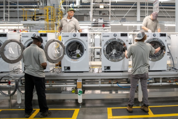 LG starts producing washers at Tennessee plant to minimize US tariff impact