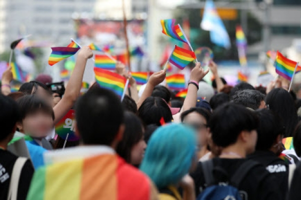 [From the Scene]  'Proud to be who we are'