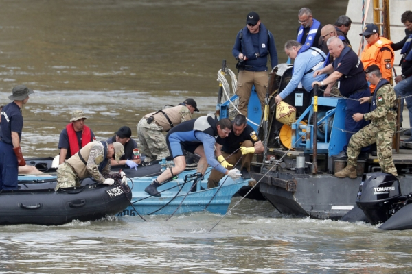 Death toll in Danube sunken tour boat accident rises to 11