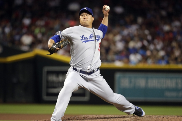 Dodgers' Ryu Hyun-jin collects 9th win in another scoreless start
