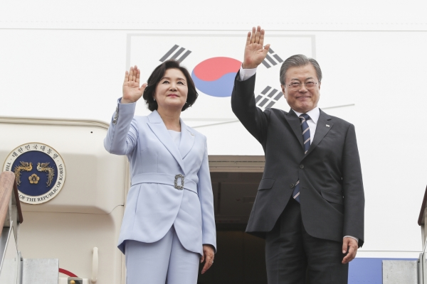 Moon embarks on Northern Europe tour with focus on peace, innovative growth