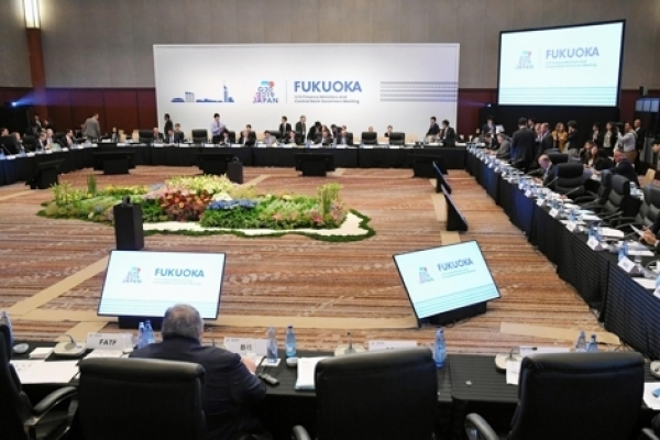 G-20 finance officials pledge to protect global growth
