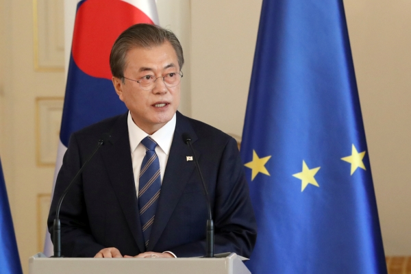 Moon expects dialogue with N. Korea to resume soon