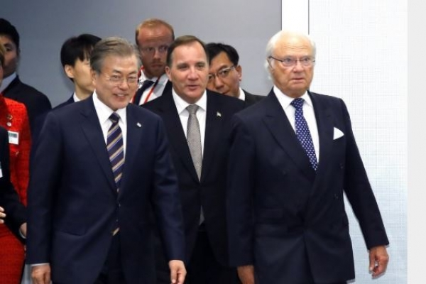 [Newsmaker] S. Korea, Sweden sign MOUs on trade, economic cooperation