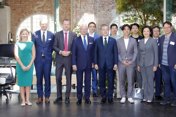 S. Korea, Sweden to expand ties on new industries, inclusive growth