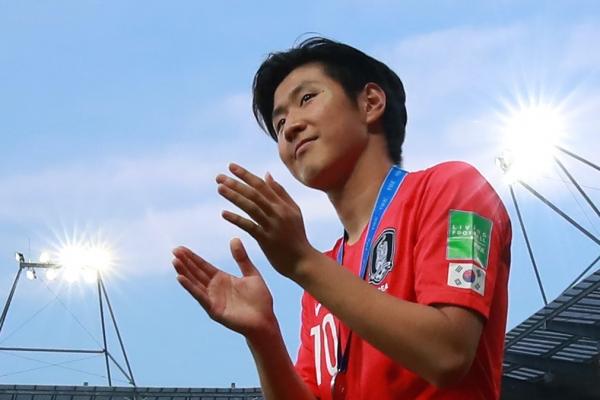 S. Korea's Lee Kang-in wins Golden Ball as tournament MVP