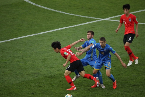 S. Korean star has 'no regrets' after losing in final to Ukraine