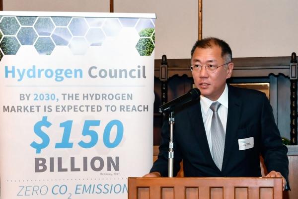 Hyundai Motor Group chief calls for global effort toward 'hydrogen economy'