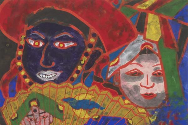 Daegu show sheds light on painter who influenced '80s Minjung art