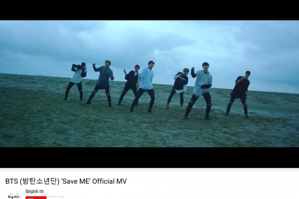 BTS' 2016 music video 'Save ME' tops 400 mln YouTube views