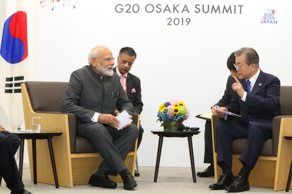 Korea, India to set up high-level body for cooperation