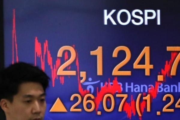 Seoul stocks end lower ahead of Trump-Xi meeting