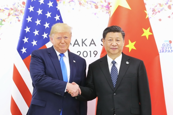 'Back on track': Trump, Xi agree to resume trade talks
