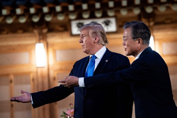 Trump anticipates 'really interesting' visit to DMZ
