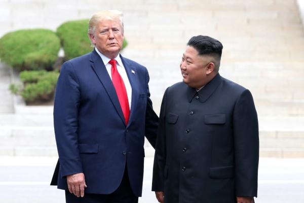 Trump, Kim agree to resume nuclear talks at historic DMZ meeting