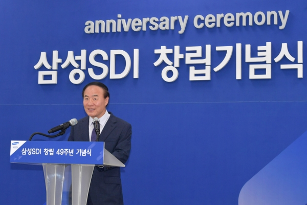 Samsung SDI CEO calls for innovative corporate culture