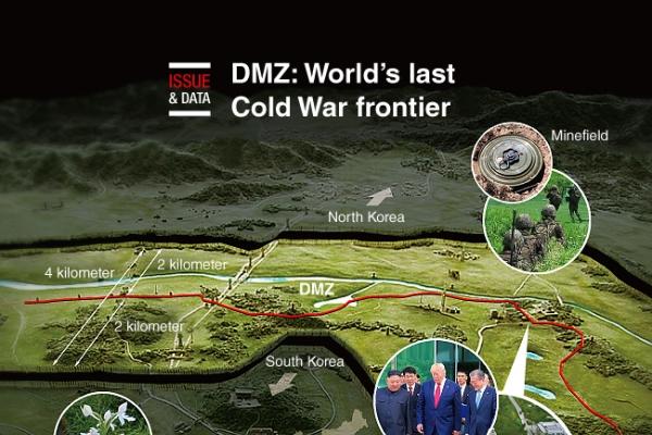 [Graphic News] DMZ: World's last Cold War frontier