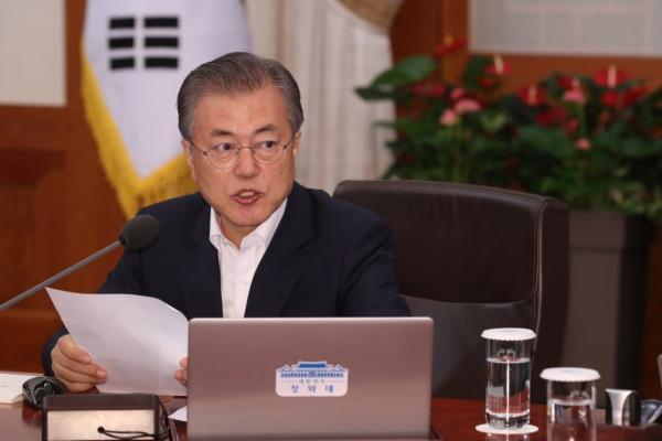 US, N. Korea have ended hostile relations: Moon