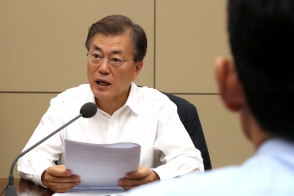 Moon vows improved health insurance system
