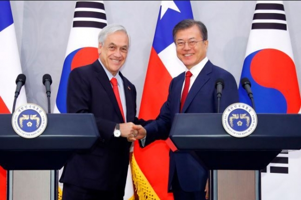 S. Korea to hold 2nd round of talks on revising FTA with Chile