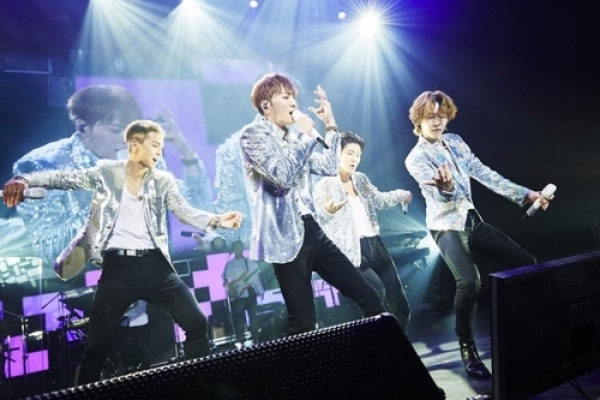WINNER stages seven-city tour in Japan