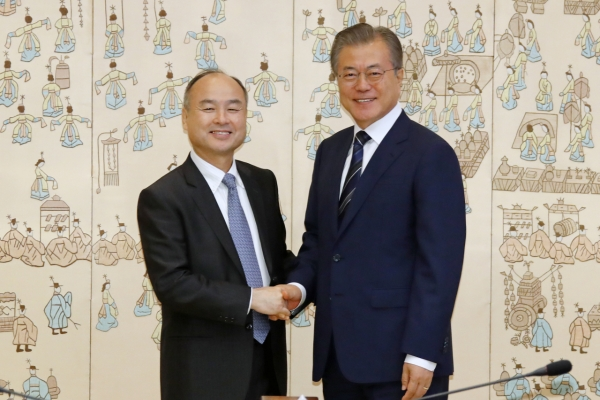 SoftBank chief highlights investment for Korea's AI