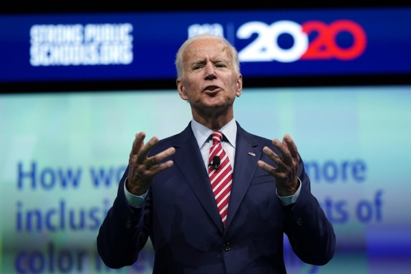 Biden accuses Trump of giving legitimacy to 'thug' Kim