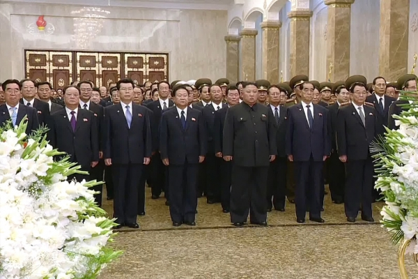 N. Korea renews call for economic development on anniversary of founder's death