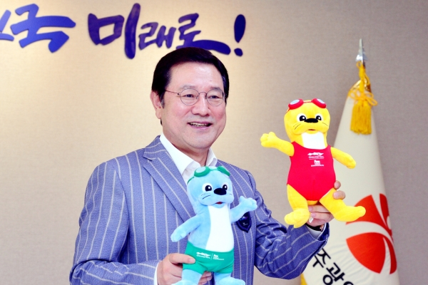 [Weekender] Gwangju hopes to become 'city of water sports' via FINA championships: mayor