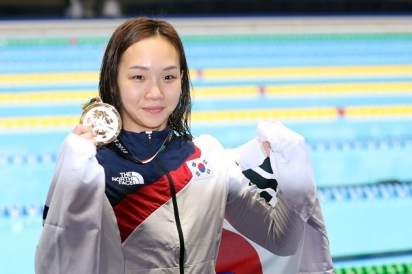 S. Korea eyes medal with largest-yet delegation at World Aquatic Championships