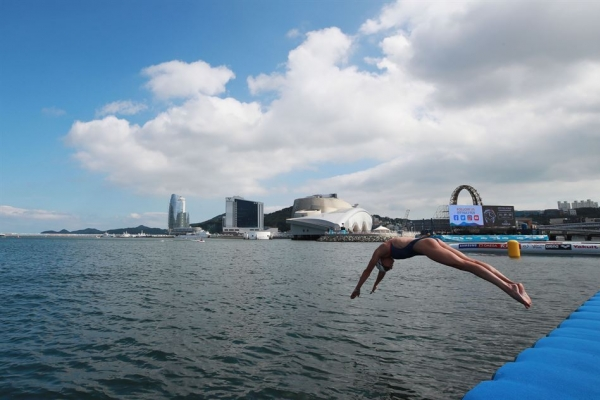 [Exclusive] Open-water swimmers embrace new challenge, aim for Tokyo Olympics