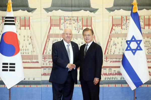 S. Korean, Israeli presidents agree to seek early FTA deal