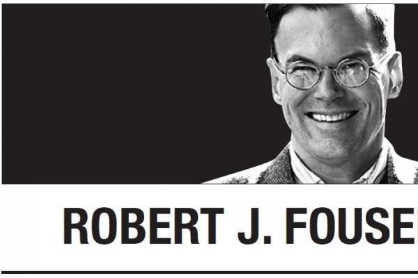 [Robert J. Fouser] Improving relations between South Korea and Japan