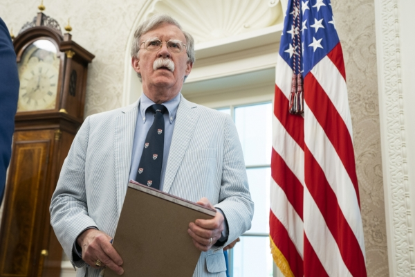 US security adviser Bolton heads for S. Korea, Japan amid trade row
