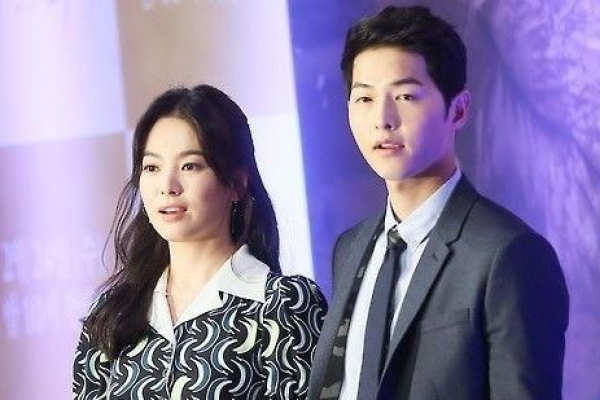 Song-Song couple divorces without division of property: Song Hye-kyo's agency