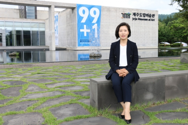 [Herald interview] 10-year-old Jeju Museum of Art prepares for next decade under new director