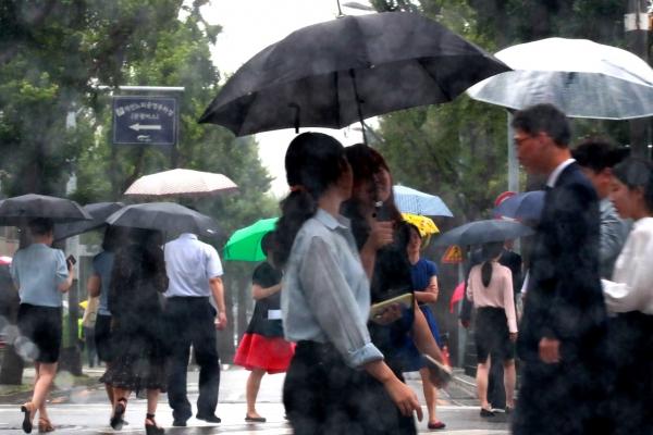 S. Korea's central regions on alert for heavy rain