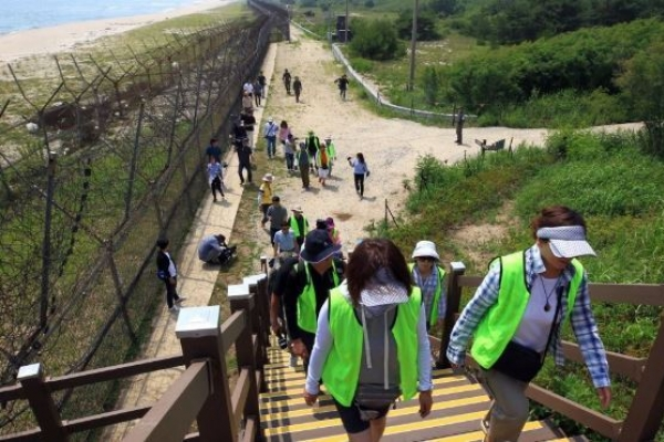 DMZ hiking trail to open in Paju next month