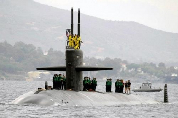 US nuclear-powered attack submarine comes to S. Korean port