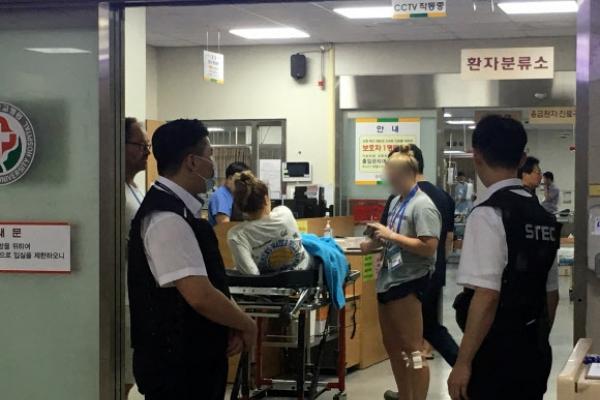 Loft collapse inside Gwangju nightclub kills 2, injures athletes at FINA championships