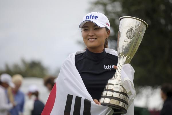 [Newsmaker] S. Korean Ko Jin-young wins Evian Championship for 2nd career LPGA major