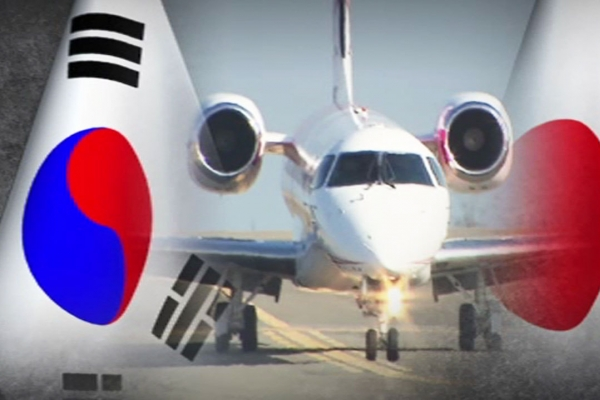 S. Korean airlines reduce flights to Japan amid trade row