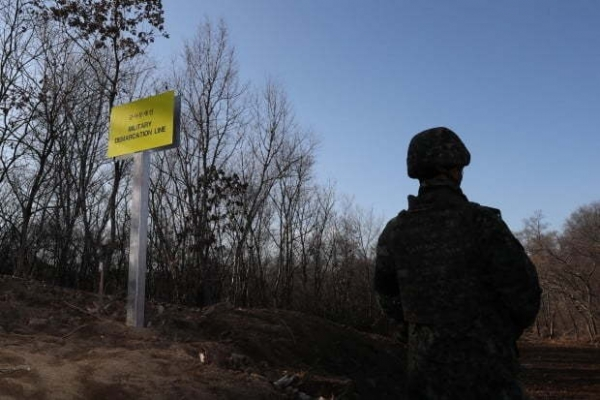 N. Korean soldier expresses desire to defect after crossing land border: JCS