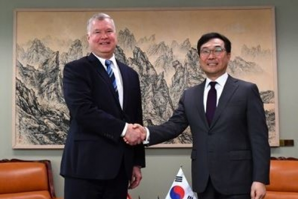 Top nuke envoys of S. Korea, US hold talks in Bangkok