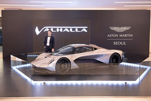 Aston Martin to display W2b Valhalla at Coex this weekend