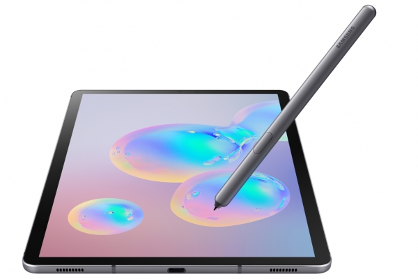 Samsung Galaxy Tab S6 features first gesture-controlled S Pen