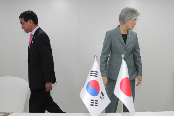 S. Korea hints at cutting defense cooperation with Japan