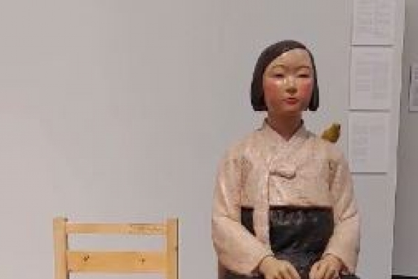 Japan orders removal of sex slave statue on display at arts festival